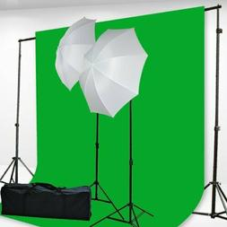 Fancierstudio H69G 6X9-Feet Chromakey Green Screen Kit Free