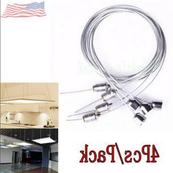 Hanging Suspension Mounting Wire Accessory Kit Fitting LED C
