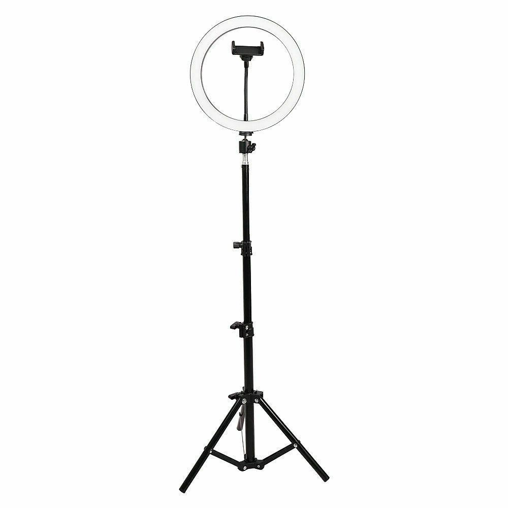 """10"""" LED Ring w/Stand & for Camera Phone Video Live"""
