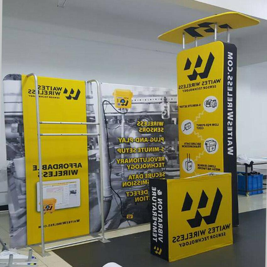 10ft Portable Trade Display Pop Kits with Stand