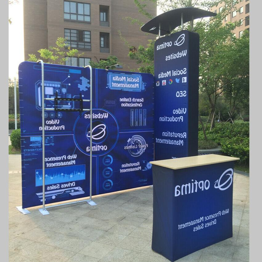 10ft Display Pop Booth Stand