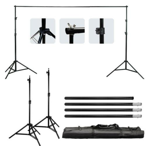 Background Support Stand Photo Backdrop Crossbar Kit Lightin
