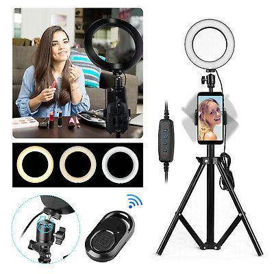 12 dimmable 5500k led ring light kit