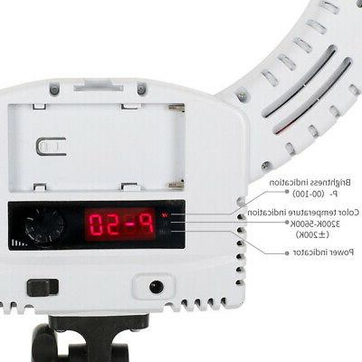 """12""""LED Ring Kit With Stand Bi-color For Camera Phone"""