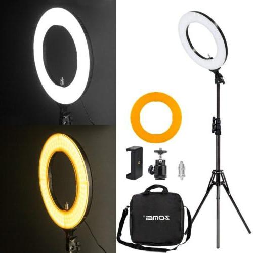 Zomei 14/18-inch Outer Dimmable LED Ring Light Kit 41/58W 55