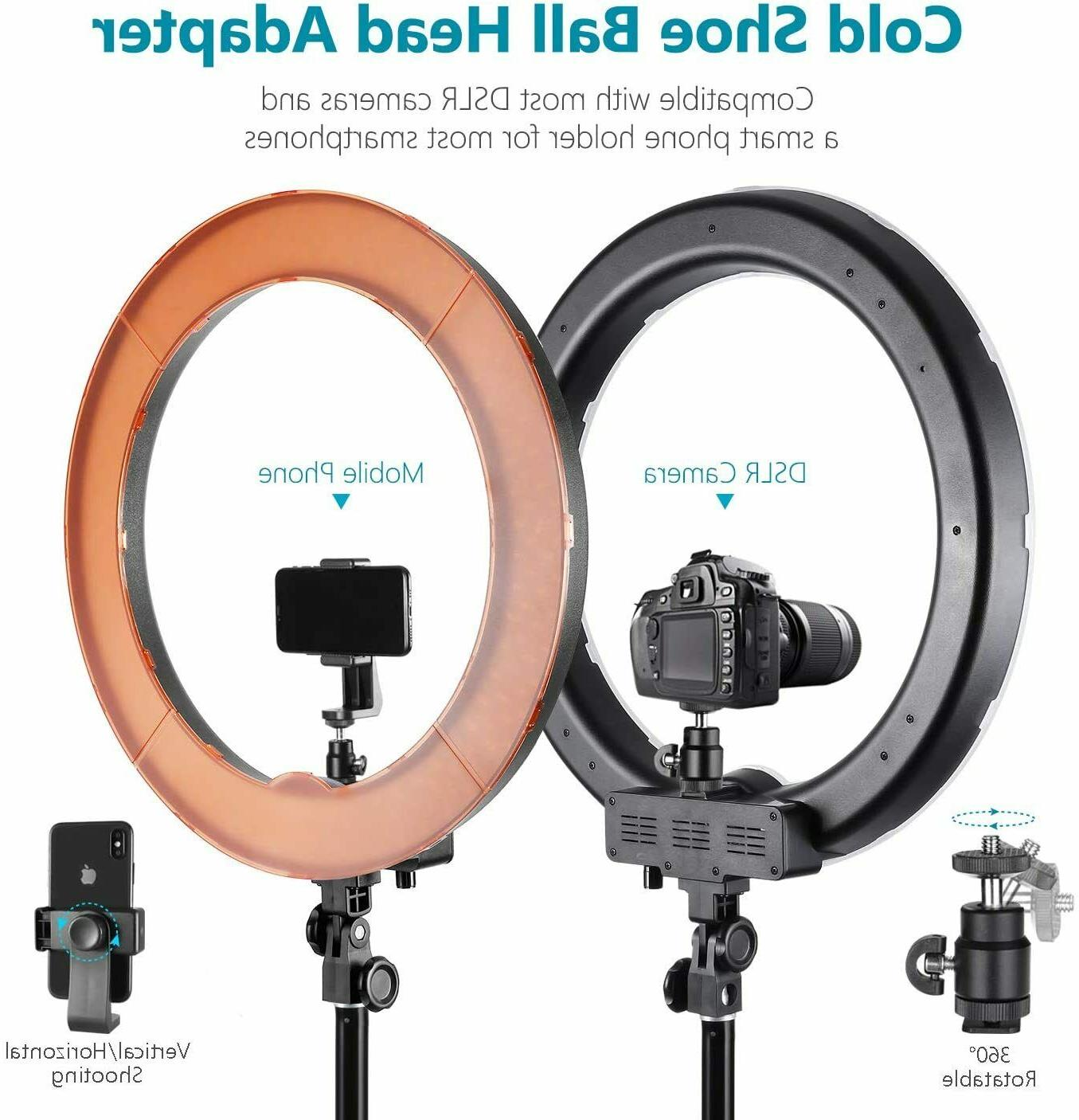 Neewer inch 55W Dimmable Ring Photo Kit +