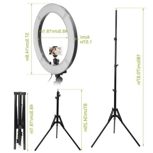 """18"""" Outer Dimmable w/ Tripod Stand &"""