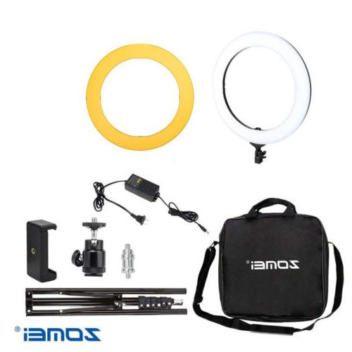 """18"""" Light Kit with Stand Dimmable 5500K for Phone"""