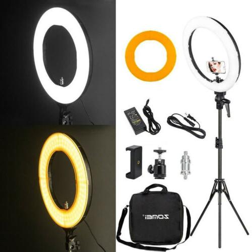 18 led smd ring light kit