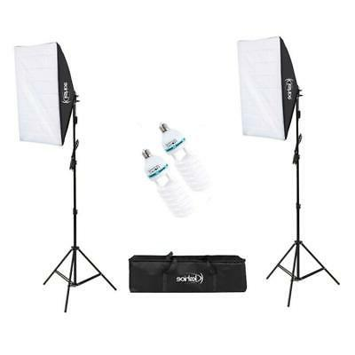 2pcs softbox light kit photo studio photography