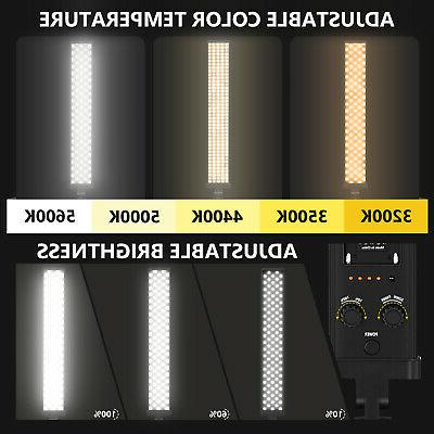 Neewer LED Video LED Kit,Dimmable