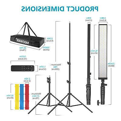 Neewer LED LED Lighting Kit,Dimmable