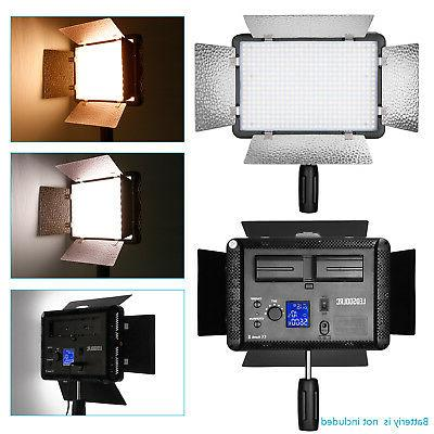 Neewer 2 Packs Dimmable 500 Light Stand Kit