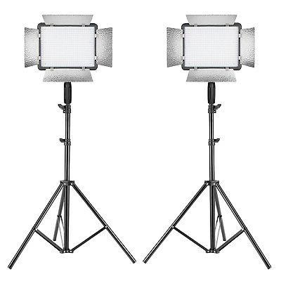 2 packs photography dimmable 500 led video