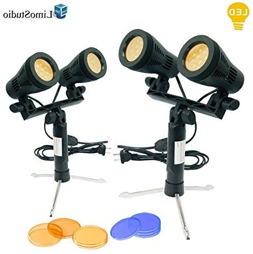2 sets continuous portable lighting