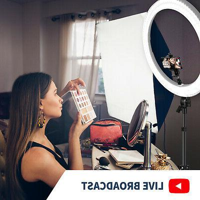 Neewer Light for Makeup Youtube Video