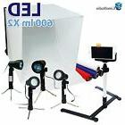 24 folding photo box tent led light