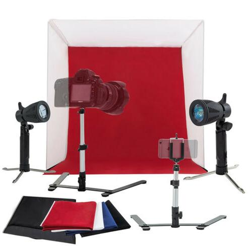 New Lighting In A Box Studio Light Tent Backdrop Cube 24""