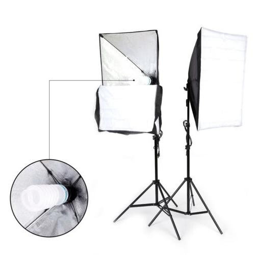 2pcs Softbox Photo Studio Photography Lighting