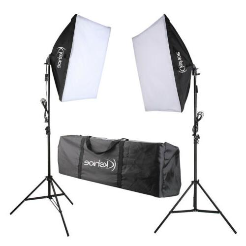 2pcs Softbox Kit Photo