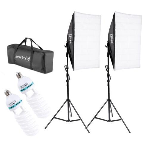 2pcs Softbox Light Lighting Set