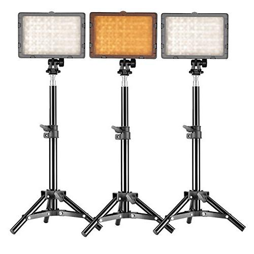 3 set studio lighting kit