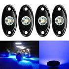 4 Pods LED Rock Light Kits, Waterproof Underglow Neon Trail