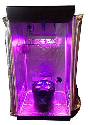 4 Site DWC Hydroponic System Grow Room - Complete Grow Tent