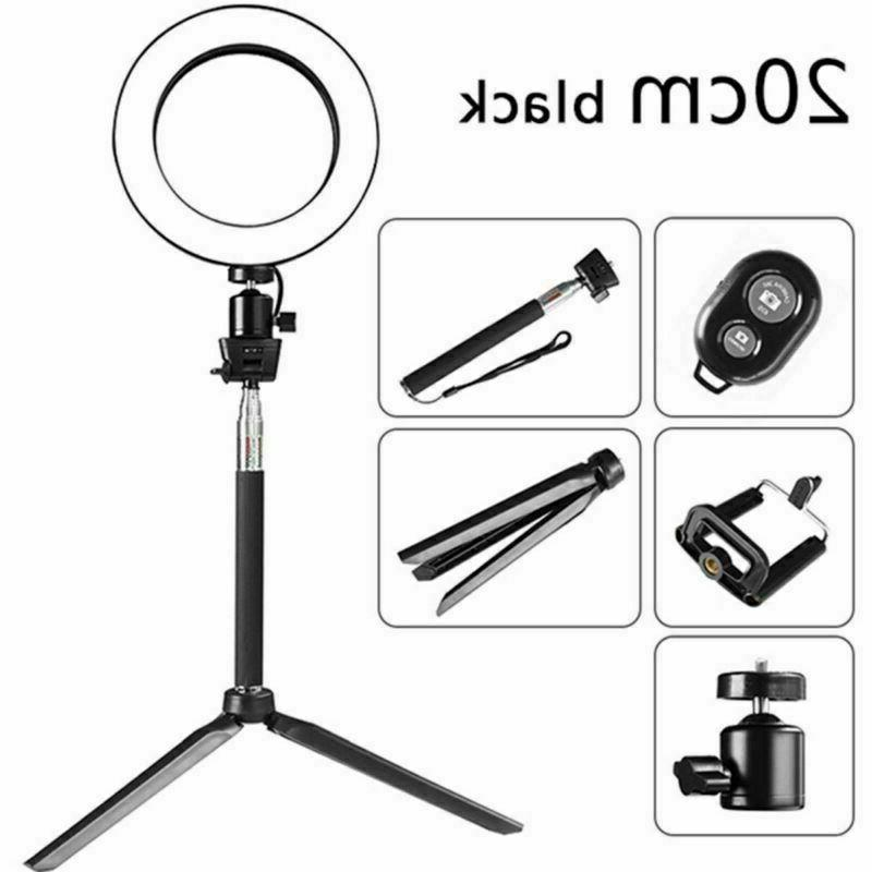 5500K Ring Light Dimmable Photography Camera Phone