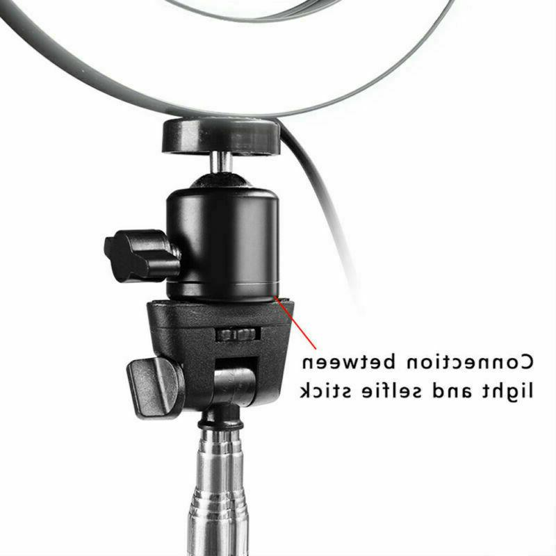 5500K LED Ring Dimmable Lamp Photography Phone Video