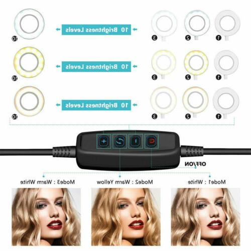"""6"""" LED Ring Light Stand for Phone"""