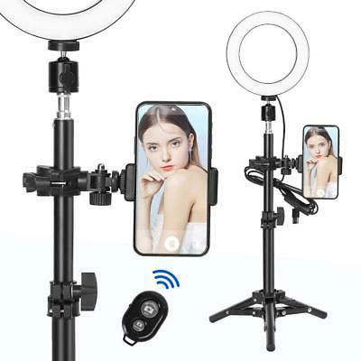 "6"" Dimmable LED Light 2800K-5500K Makeup Phone"