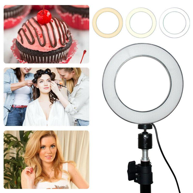 "6"" Ring Kit Dimmable Studio Selfie Fill"