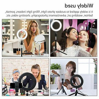 6'' Ring Light Stand Camera Makeup