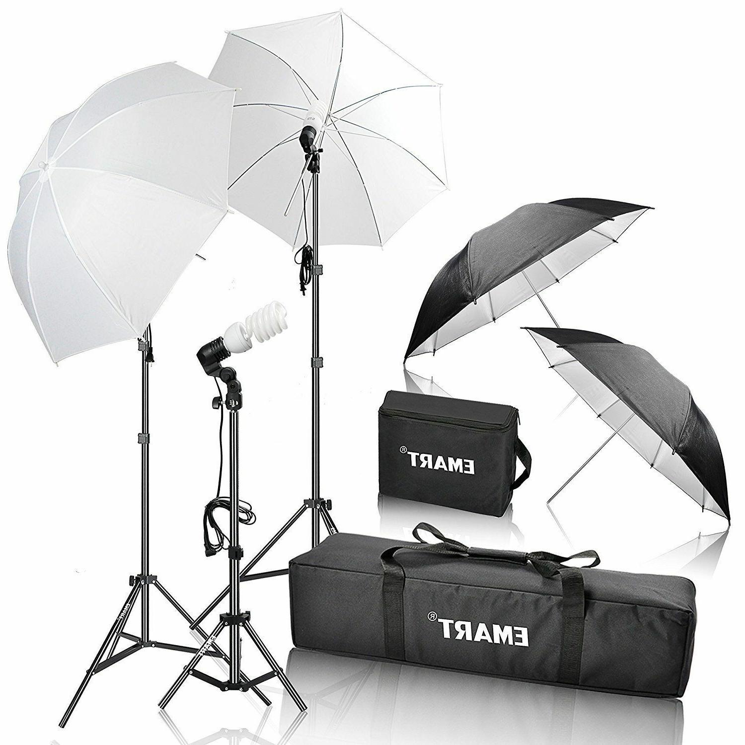 Emart 600W Photography Photo Video Portrait Studio Day Light