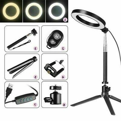 """8"""" Dimmable 5500K Stand for Phone Camera"""