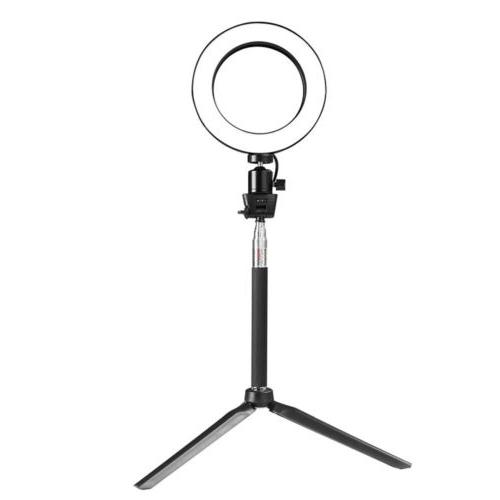 8'' LED Light Kit 5500K Selfie Camera Makeup
