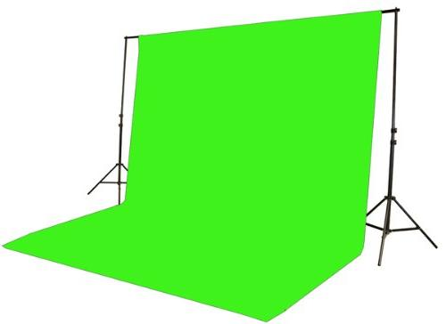 Fancierstudio 2000 Kit Green Screen Three Softbox Photography and Video