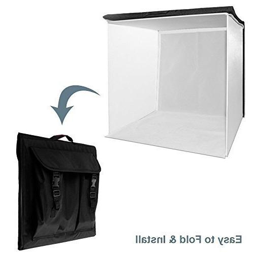 LimoStudio Folding Box Tent Table Photography Kit,