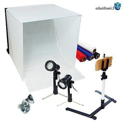 LimoStudio Table Top Photography Studio Light Tent Kit in a