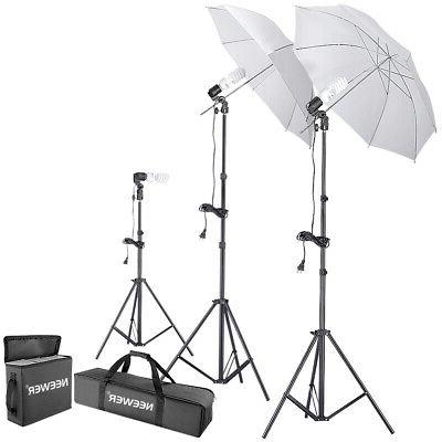 Neewer 600W 5500K Photo Studio Day Light Umbrella Continuous