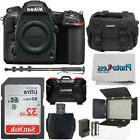 Nikon D500 DSLR Camera 20.9MP DX-Format Body +Video Lighting
