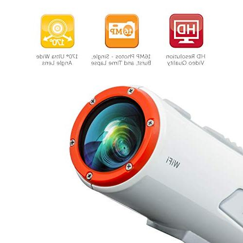 Polaroid Wi-Fi Extreme Edition 16MP Waterproof Video Camera With Kit