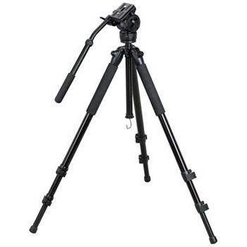 Professional Heavy Duty Video Camcorder Tripod Fluid Drag He