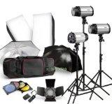 Strobe Studio Flash Light Kit 900W - Photographic Lighting -