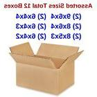 Assorted Sizes 12 Shipping Boxes eBay Selling Starter Kit Sm