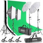 Neewer Background Support System Kit with Backdrop + Softbox