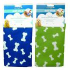 "Bath Time For Dogs Super Absorbent Towel 30"" X 25"" Four Paws"