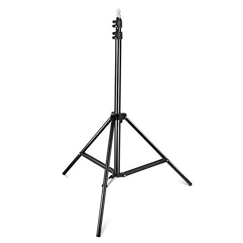Neewer Pieces 660 and Stand CRI 96+ with Barndoor and 75 inches Light Stand for Studio Photography,
