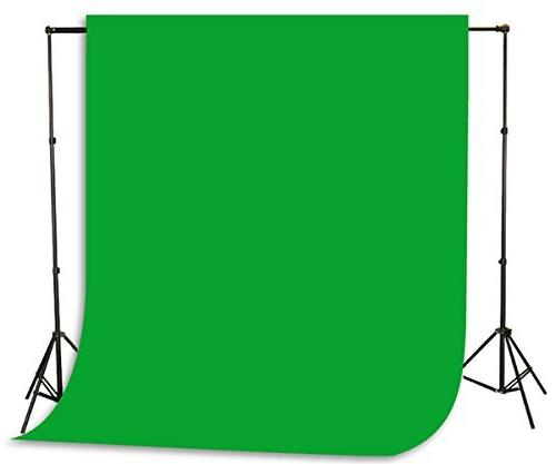 chromakey green background stand backdrop